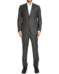 Ermenegildo Zegna Suit 2 Buttons Milano Stripped Gr240 - Lyst