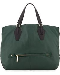 Halston Heritage Convertible Leather Hobo Bag - Lyst