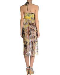 Blumarine Beach Dress - Lyst