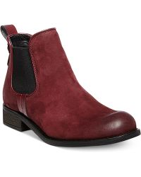 Steve Madden Gilte Casual Booties - Lyst