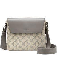 Gucci Gg Supreme Canvas Messenger Bag - Lyst