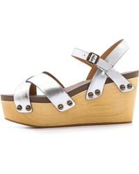 Flogg - Piper Wedge Sandals - Lyst