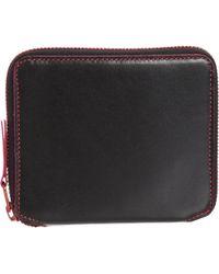 Comme des Garçons Marvellous Zip Around Wallet pink - Lyst