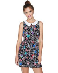 Nasty Gal Maze Out Dress - Lyst