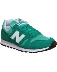 New Balance 373 Suede And Mesh Trainers - For Women - Lyst