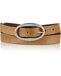 Isabel Marant Leather Belt - Lyst