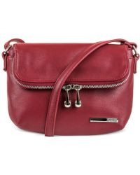 Kenneth Cole Reaction | Wooster Street Foldover Flap Mini Bag | Lyst