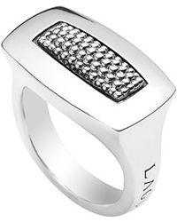 Lagos 'Imagine' Rectangular Ring silver - Lyst