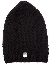 Werkstatt:münchen - Chunky Knit Beanie Hat - Lyst