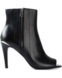 Diesel Black Gold Ginger Ankle Boots - Lyst
