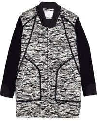 Iro Skyla Black and White Marble Jacket - Lyst