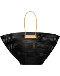 Balenciaga | Cable Raffia Maxi Basket | Lyst