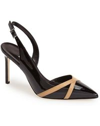 Manolo Blahnik Women'S Pointy Toe Slingback Pump - Lyst