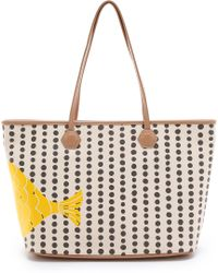 Jonathan Adler - Medium East / West Tote - Meyer Lemon - Lyst