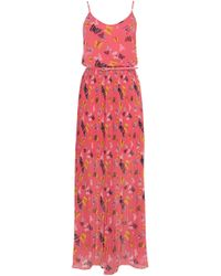 Oasis Butterfly Side Split Maxi Dress - Lyst