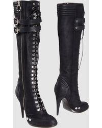 Roberto Cavalli High-Heeled Boots - Lyst