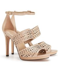 Tory Burch Perforated Gladiator Sandal - Lyst