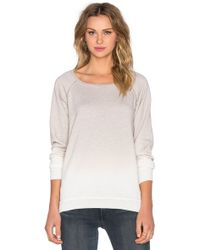 Saint Grace - Side Slit Raglan Sweatshirt - Lyst