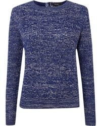 Therapy Zip Back Jumper - Lyst