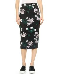A.L.C. Floral Bell Skirt - Lyst