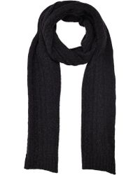 Moncler Cableknit Scarf - Lyst