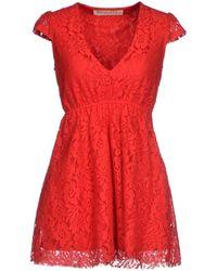 Reverse Short Dress - Lyst