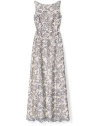 Tory Burch Floral Skye Gown - Lyst