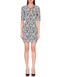 Maje Floral Print Dress - For Women - Lyst