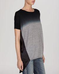 Karen Millen Sweater  Ombre Dip Dye - Lyst