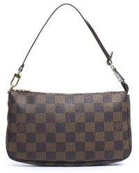 Louis Vuitton | Pre-owned Damier Ebene Pochette Accessories Bag | Lyst
