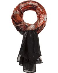 Sandwich - Abstract Print Scarf - Lyst