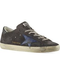 Golden Goose Deluxe Brand Superstar Suede Sneakers - For Women - Lyst