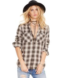 Denim & Supply Ralph Lauren - Flannel Utility Shirt - Lyst