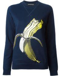 Ostwald Helgason - Banana Print Sweatshirt - Lyst