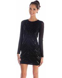 Parker Isabelle Embellished Dress - Lyst