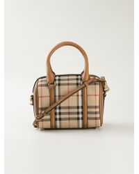 Burberry Small 'Alchester' Bowling Bag - Lyst