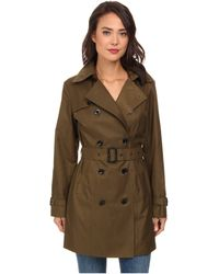 MICHAEL Michael Kors Trench Coat - Lyst