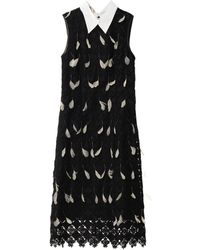 Erdem Brenton Diamondlace Feather Dress - Lyst