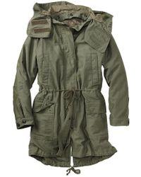 Gap Parka Jacket - Lyst