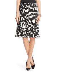 Diane Von Furstenberg Dvf Thames Flirty Silk Jersey Skirt - Lyst