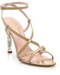 Kate Spade | Fiandra Jeweled Sandals | Lyst