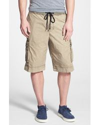 James Perse Cargo Shorts - Lyst