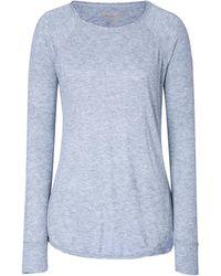 Zadig & Voltaire Viscose Wool Long Sleeve Top - Lyst