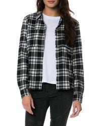 Volcom The Brawl Plaid Ls Shirt - Lyst