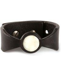 Rick Owens Buffalo Bone Bracelet - Lyst