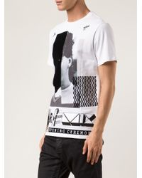 Opening Ceremony Remix Face T-shirt - Lyst