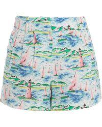 Paul & Joe Printed Shorts - Lyst