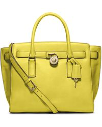 Michael by Michael Kors Hamilton Leather Large Traveler Tote Bag - Lyst