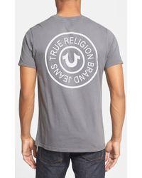 True Religion Tack Graphic T-Shirt - Lyst