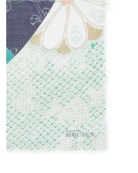 Alexander McQueen Kimono Patchwork Modal-Silk Scarf - Lyst